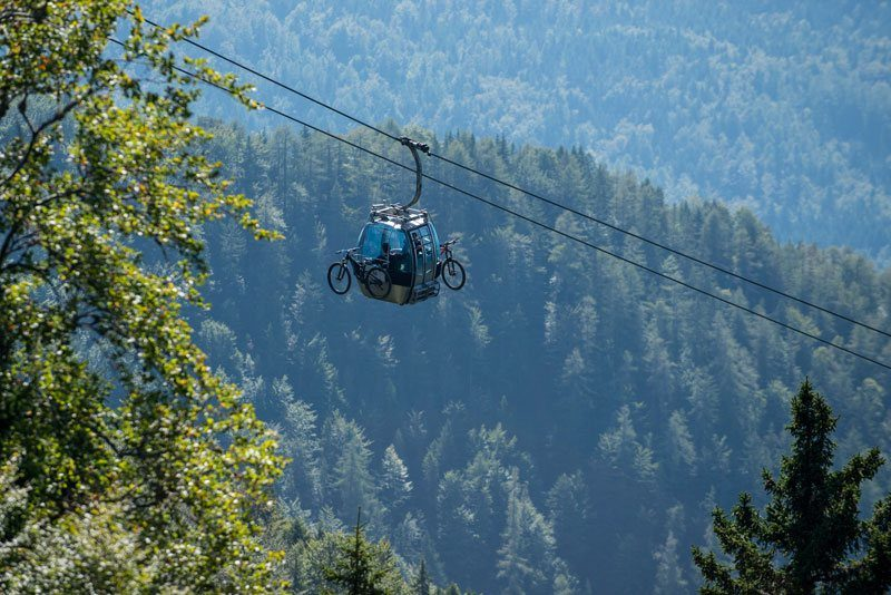 Best of Slovenia Single Trails cable car Krvavec