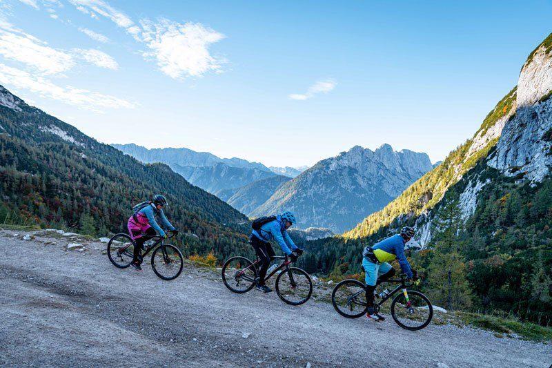 Epic Slovenia gravel bike tour mountain pass