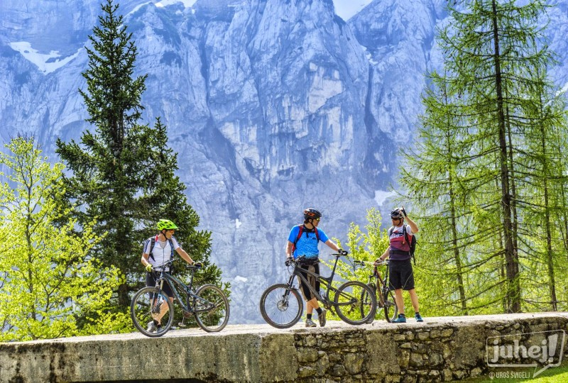 MTB tour among Julian Alps