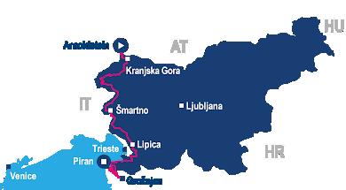 epic slovenia gravel bike tour