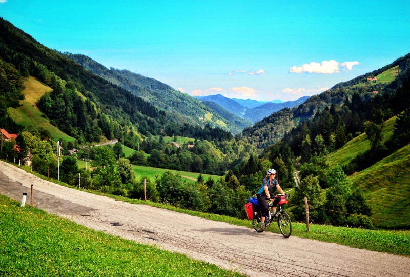 Cycling green Slovenia