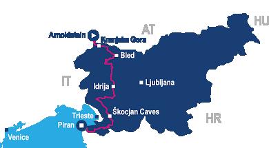 Trans Slovenia 2 map