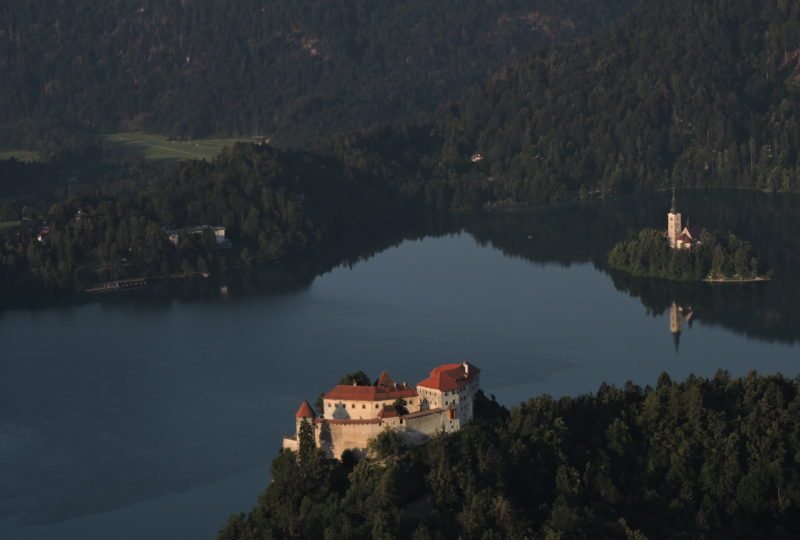 bled lake castle and island