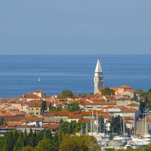 piran town in istria