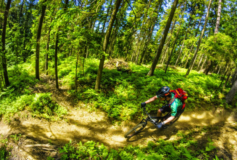 adventure biking in slovenia europe