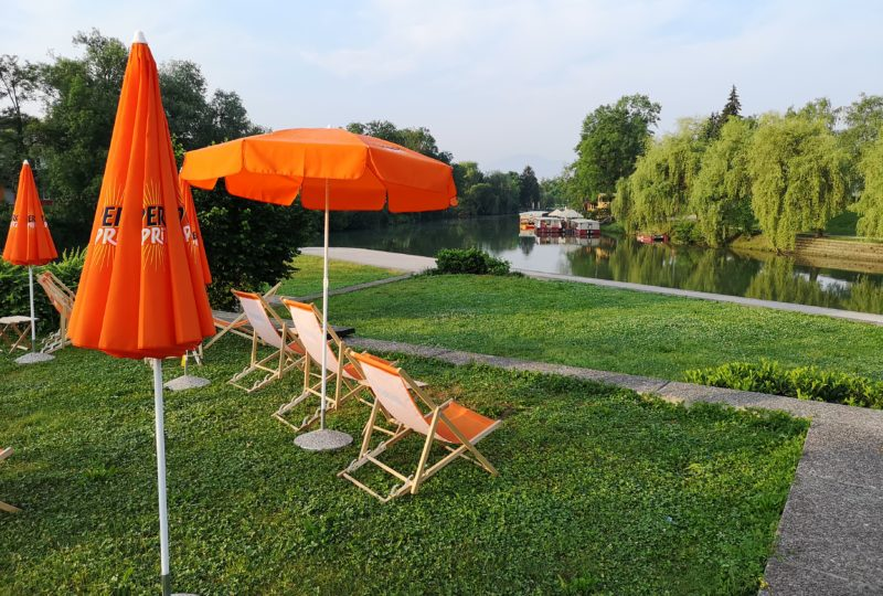 bar near ljubljanica river