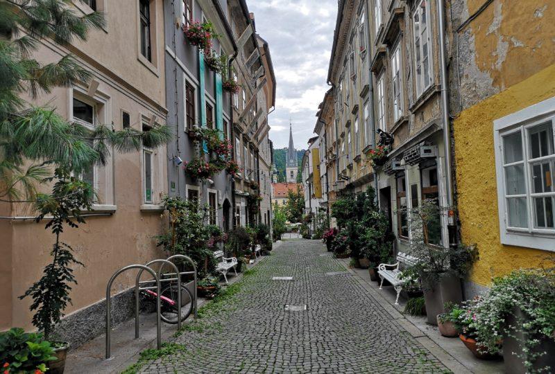 krizevniska ulica in Ljubljana