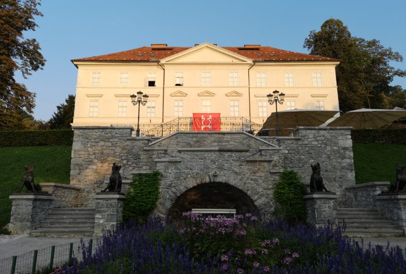 tivoli castle in ljubljana