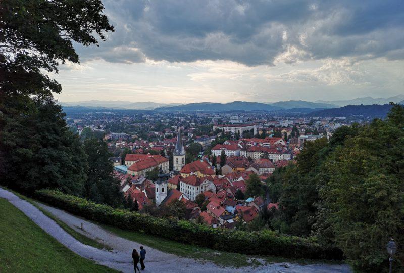 Ljubljana viewpoint