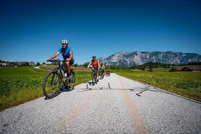 Salzburg to Venice cycling tour Austria