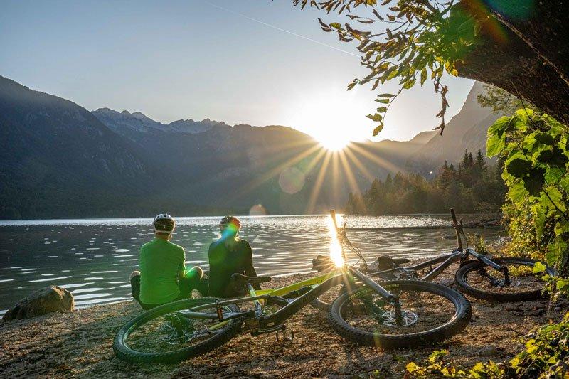 bike slovenia green bohinj