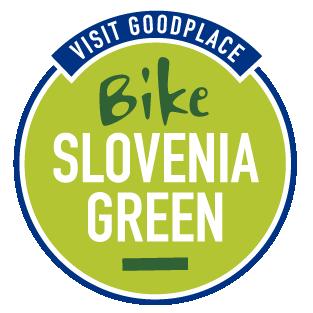 Bike Slovenia Green logo