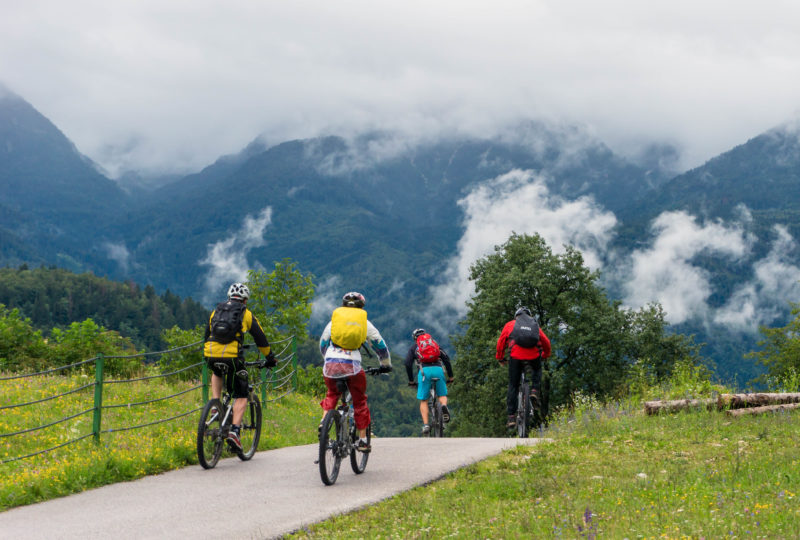 mountain biking in bohinj