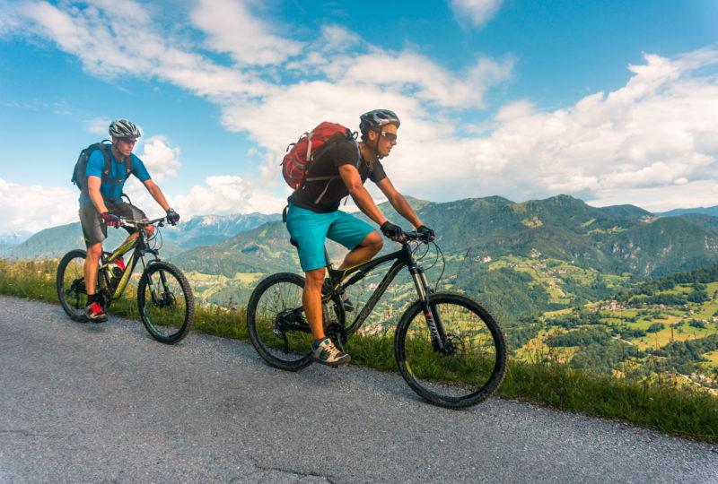 mountain biking near cerkno