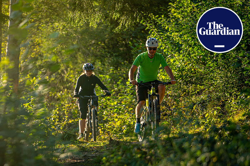 Bike Slovenia Green The Guardian