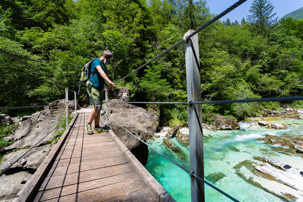 Walk of peace over soca river 2