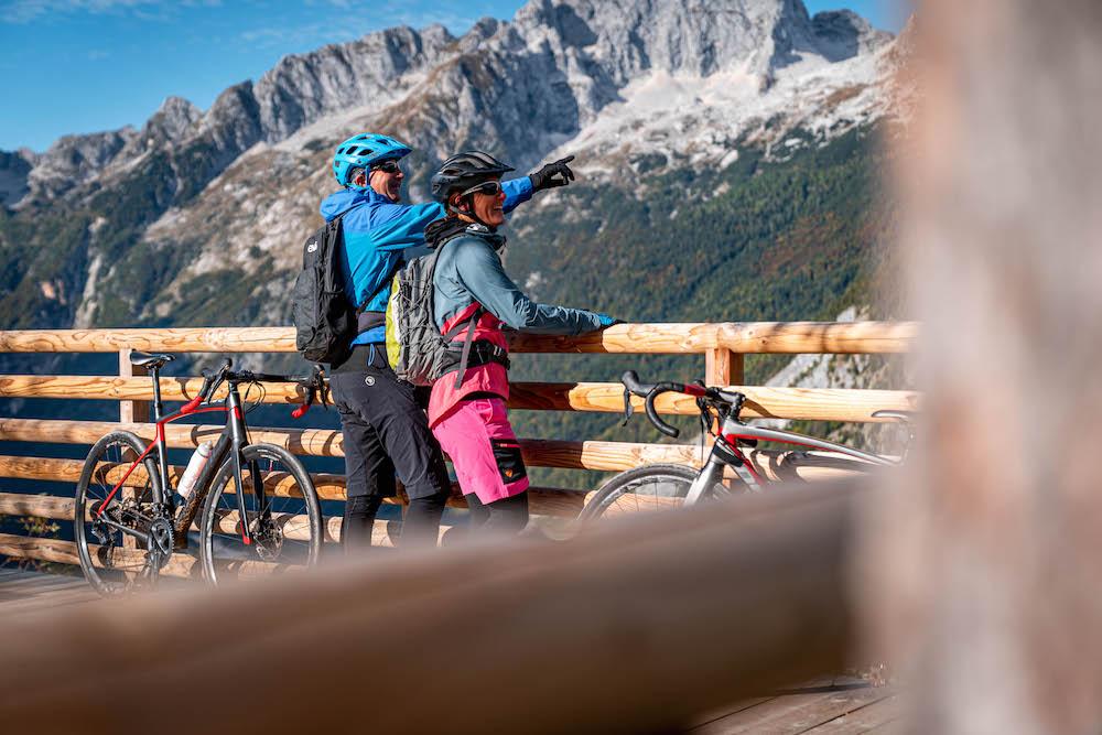 honeymoon cycling slovenia