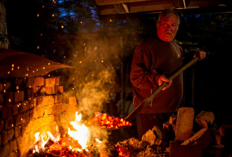 charcoal-cooking-traditional-food-slovenia